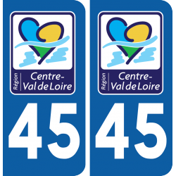 Sticker Département 45