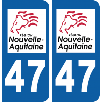 Sticker Département 47