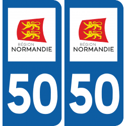 Sticker Département 50