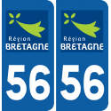Sticker Département 56