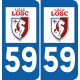 Sticker Lille LOSC