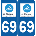 Sticker Département 69