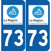 Sticker Département 73