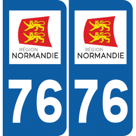 Sticker Département 76