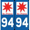 Sticker Département 94