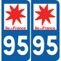 Sticker Département 95