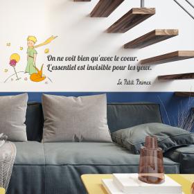 Sticker Citation Le petit Prince
