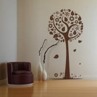 stickers fleurs nature et arbre de vie stickers center. Black Bedroom Furniture Sets. Home Design Ideas