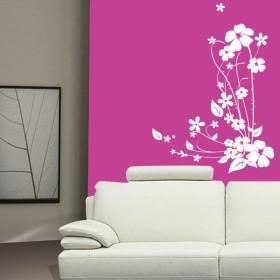 Sticker Bouquet fleuri