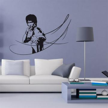 Sticker Bruce Lee - Mouvements