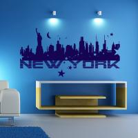 Sticker New York Fresque