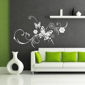 Sticker Papillons du Bonheur