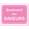 Sticker Boulevard des Saveurs