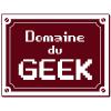 Sticker Domaine du Geek