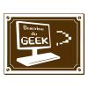 Sticker Domaine du Geek 2