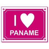Sticker I love Paname