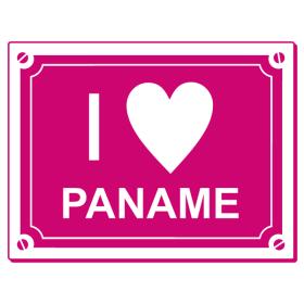 Sticker I love Paname