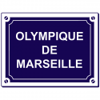 Sticker Olympique de Marseille