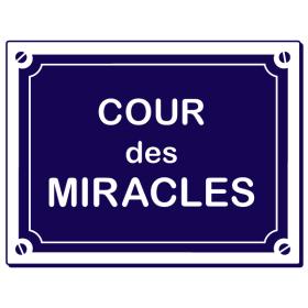 Sticker Cour des Miracles