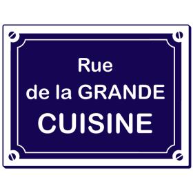 Sticker Rue de la grande Cuisine