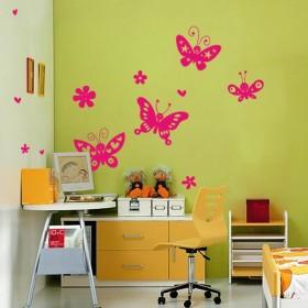 Sticker Papillons Joyeux
